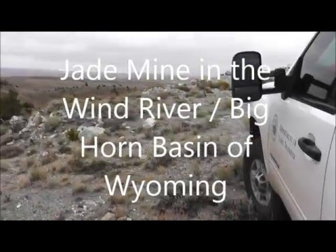 Jade Mine in the Wind River, Big Horn Basin of Wyoming from the Department of Land Transfer Informat