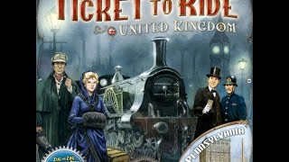 Dad vs Daughter - Ticket to Ride United Kingdom