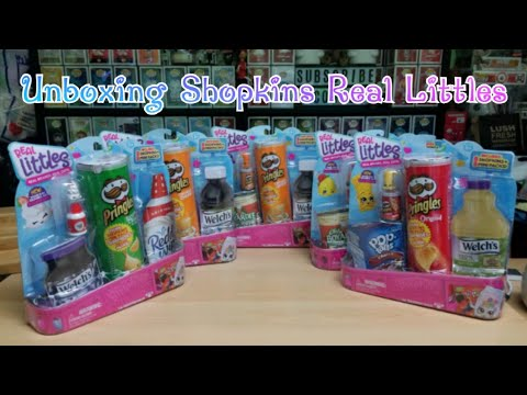 Opening Shopkins Real Littles - They Are Soooo Adorable!!!
