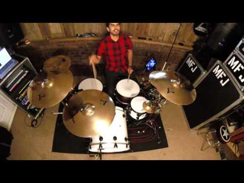 Pierce The Veil  Bulletproof Love (Drum Cover) HD