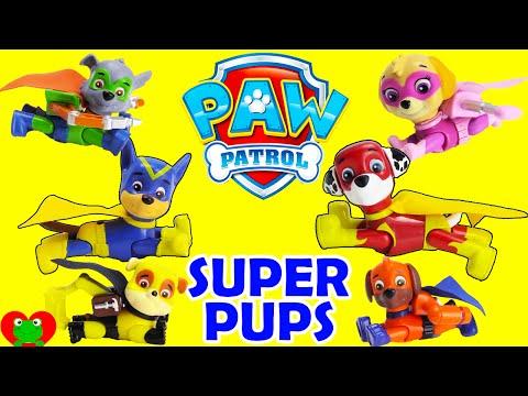 NEW Paw Patrol SUPER Pups