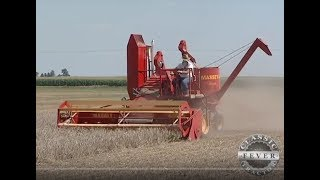 1949 Massey Harris 21A Combine and 1949 B1 Dodge Truck -  Classic Tractor Fever Tv
