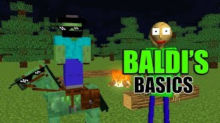 Monster School : BALDI'S BASICS FIELD TRIP - Minecraft Animation