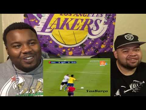 ITS LIKE HE IN HIS ON WORLD!!-Ronaldinho Gaucho ● Moments Impossible To Forget-REACTION