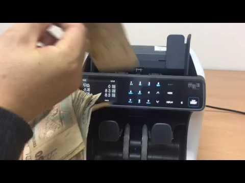 Counting bad quality banknote