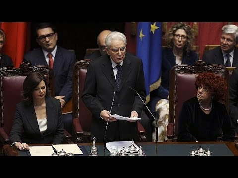 Italian President Sergio Mattarella in call to fight mafia and corruption