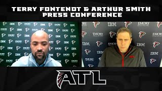 Terry Fontenot, Arthur Smith discuss free agency, college pro days and the upcoming draft