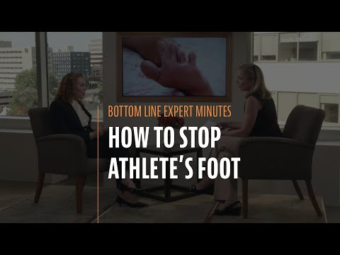 How to Stop Athlete's Foot