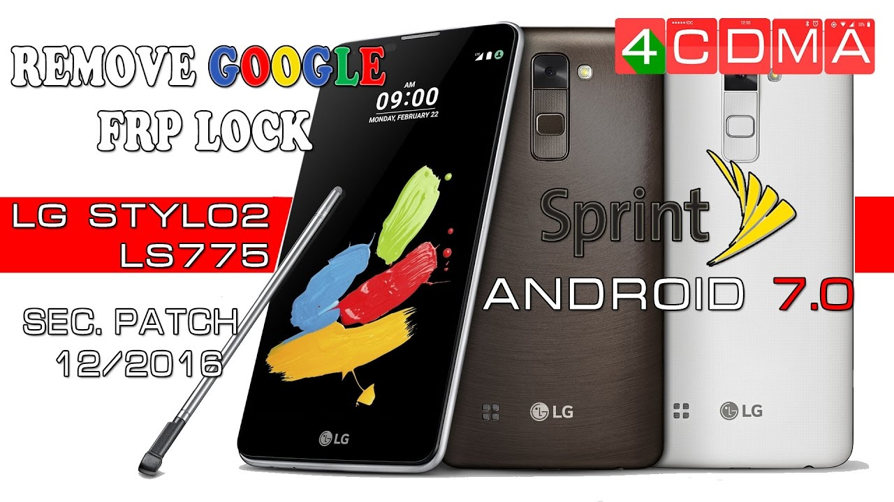 How to READ & UNLOCK MSL/SPC Code on LG Stylo2 LS775 Sprint | Android 6 0 1  by 4CDMA