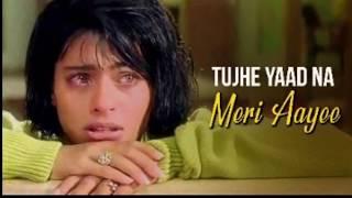 Gambar cover Tujhe Yaad Na Meri Aayee   Shah Rukh Khan   Kajol   Alka Yagnik  Manpreet Akhtar   Udit Narayan