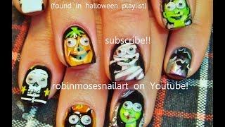 Halloween Nails! 10 Diy Cute Halloween Nail Art Designs