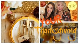 Your Thanksgiving! Decor/table/food Ideas