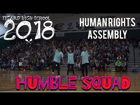 Tigard High School 2018 (HUMAN RIGHTS ASSEMBLY)
