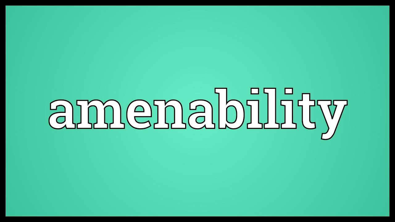 Image result for Amenability