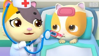 No No Go to the Doctor | Doctor Cartoon | Kids Songs | Nursery Rhymes | Kids Cartoon | BabyBus