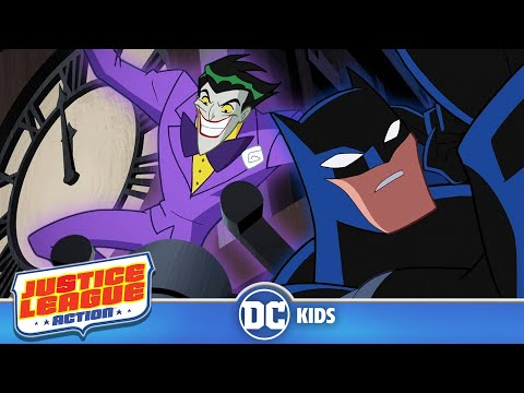 Justice League Action | The Stroke Of Midnight | DC Kids