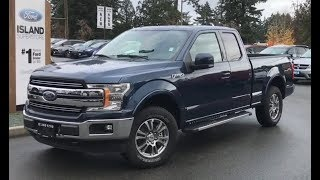2018 Ford  F-150 Lariat Ecoboost SuperCab Review| Island Ford
