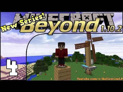 Minecraft FTB Beyond 1.10.2 (Let's Play) - Episode 4 - Solar