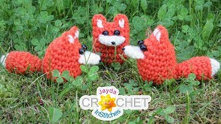 Chibi Chubby Tubby Fox - Crochet Pattern & Tutorial