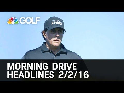 Monday Scramble:  Big Name Golfers Miss Farmers Cut  2/02/16 | Golf Channel