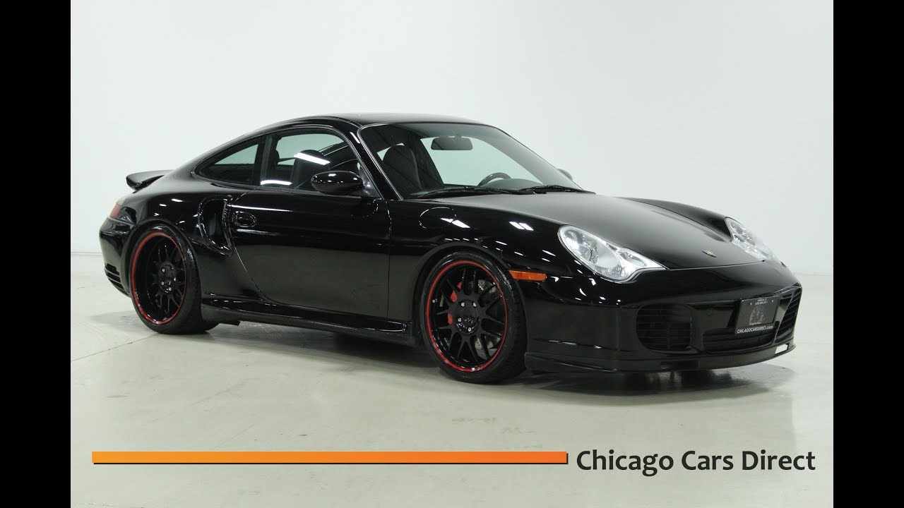 2002 Porsche 911 Turbo Coupe X50