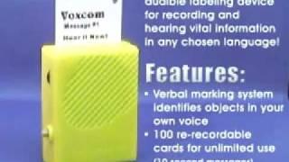 VOXCOM III - Voice Labeling System