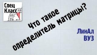 4. Что такое определитель матрицы? - bezbotvy