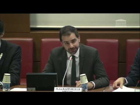 Budget 2020 - présentation du rapport spécial en commission des finances
