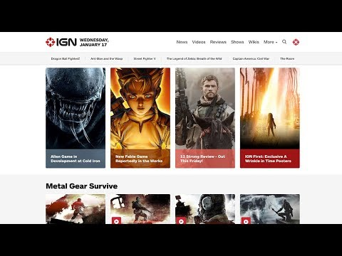 Download Youtube: Meet the New IGN.com Homepage