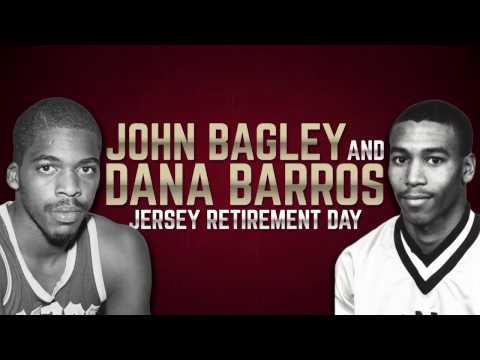 John Bagley & Dana Barros Jersey Retirement Ceremony: Feb. 25, 2017