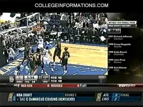 2010 NBA Draft - #13 Pick - Toronto Raptors - Ed Davis