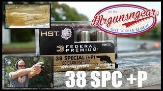 Federal HST Micro 130gr 38 Special +P Ballistic Gel Test (HD)