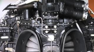 De Havilland Ghost 48 MK1 - Turbojet engine - Wellentriebwerk
