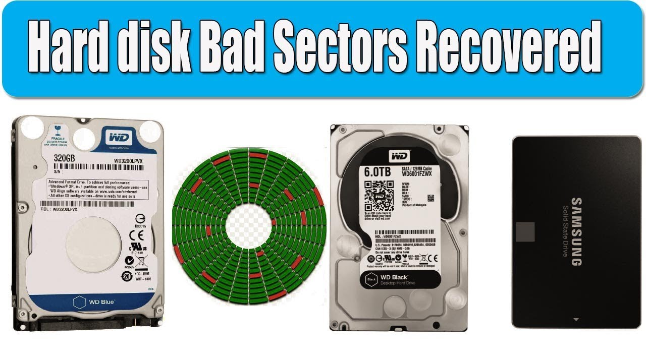 How to repair Hard disk bad sectors recovered | Bangla