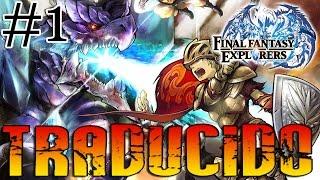 Vídeo Final Fantasy Explorers