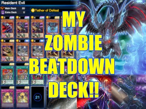 Yu gi oh duel links zombie beatdown deck youtube for Zombie balcony