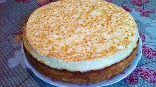 """Торт""""Слезы Ангела""""/Творожный Пирог/Cake""""Angel Tears""""/Пошаговый Рецепт(Очень Вкусно и Красиво)"""