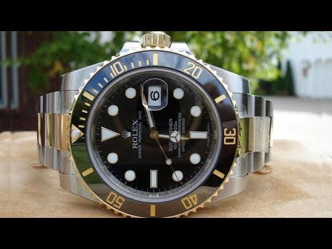 248773460a08e Brand new Rolex Submariner Date 116613LN Black dial 40 mm steel & yellow  gold | by TopNotch Watch - YouTube