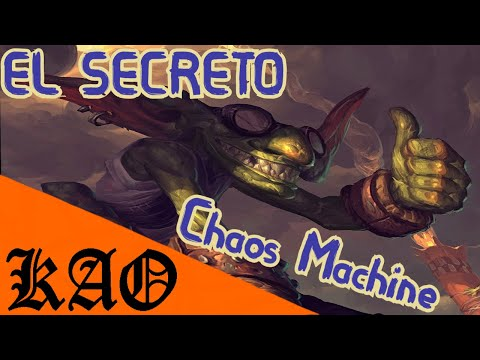 El Secreto de la Chaos Machine Webzen Mu online