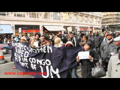 DRCongo Mega march London