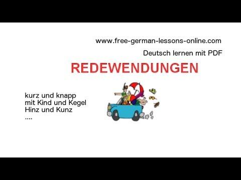 learn german idioms zweiteilige redewendungen teil 1 b1 c1 youtube. Black Bedroom Furniture Sets. Home Design Ideas