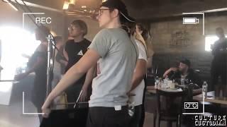 BTS Davido's Nwa Baby Video Shoot