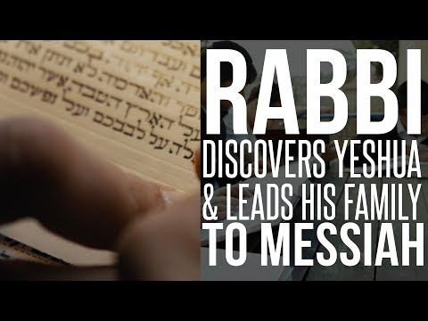 Orthodox Rabbi Comes To Faith And Leads His Family To The Messiah! - One For Israel