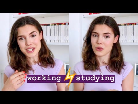 Working Part-Time, Studying Full-Time (retail)