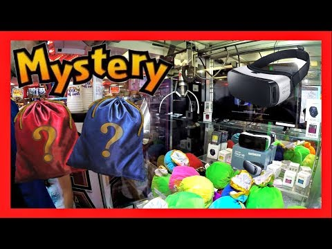 MYSTERY BAG WIN - CAN WE WIN A SAMSUNG GEAR VR VIRTUAL REALITY HEADSET??