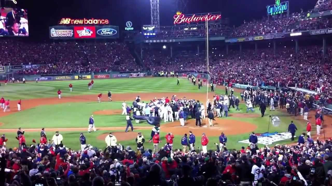 Boston Red Sox win the 2013 World Series