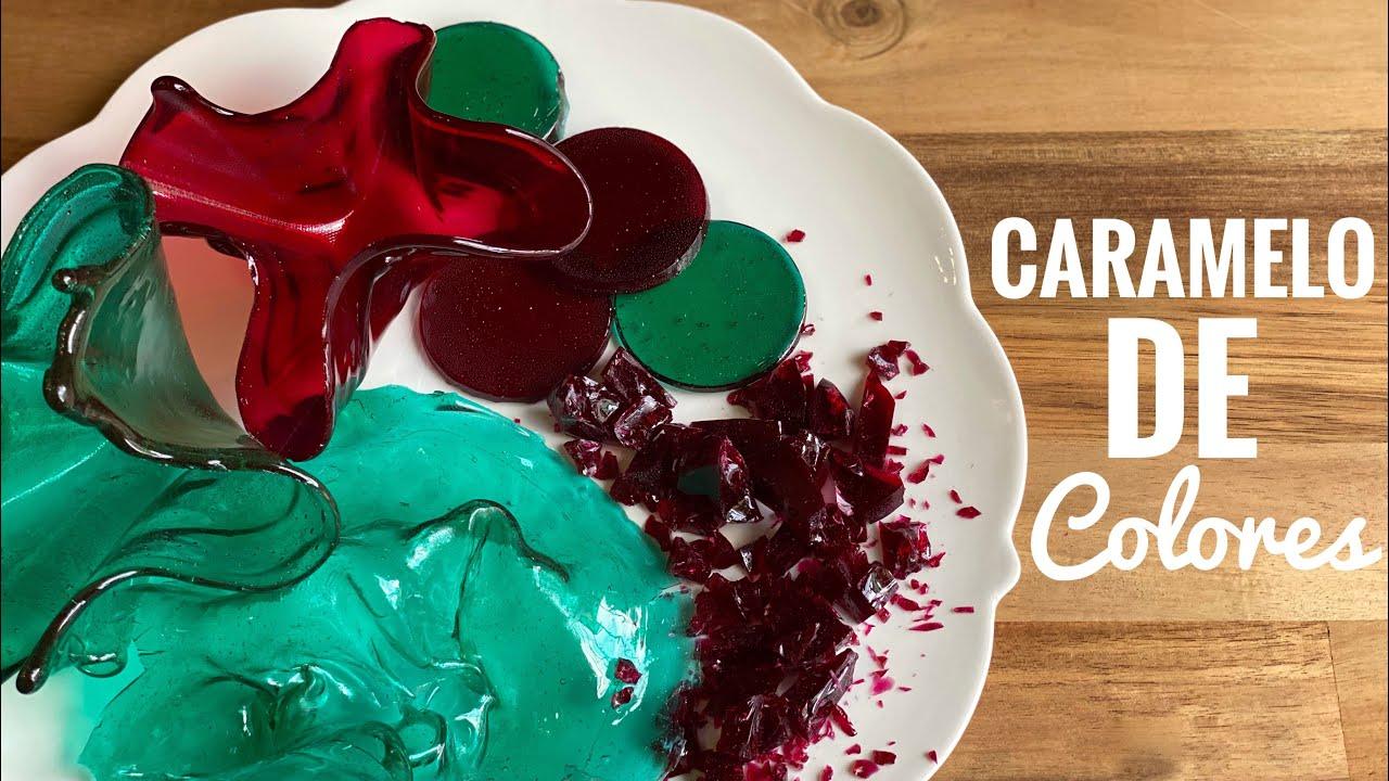 Cómo Hacer Caramelo De Colores Para Decorar
