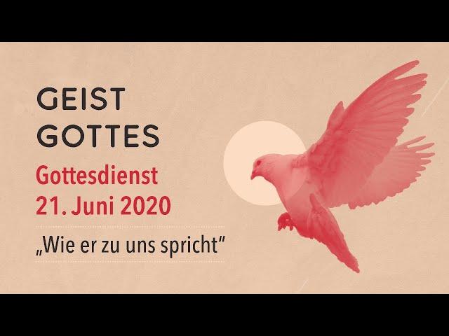 Gottesdienst der FeG Frankfurt | Sonntag 21.06.2020 | Thema: