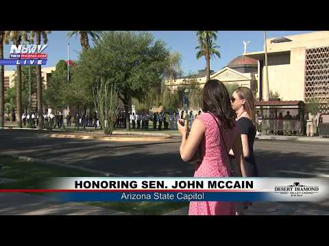 FNN: Honoring Senator John McCain, LA police chase, Thursday top stories