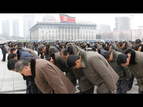 Never before seen real life footage inside of North Korea (D